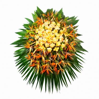 Coroa de Flores Super Luxo 03