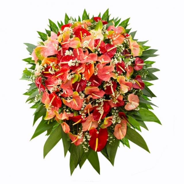 Coroa de Flores  Super Luxo CFLX004