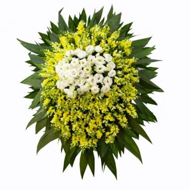 Coroa de Flores  Super Luxo CFLX005